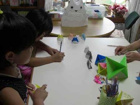 折り紙教室(自宅)①.JPG